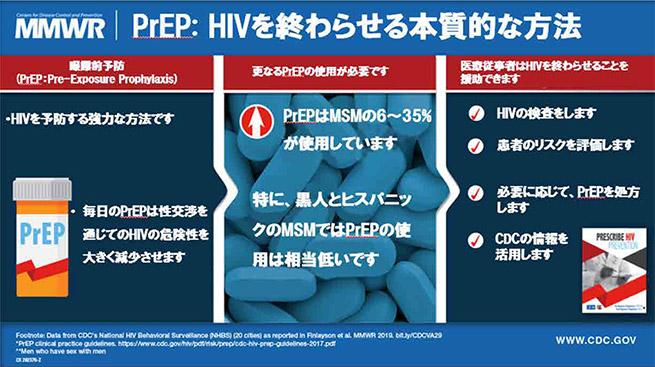 PrEP: HIVを終わらせる本質的な方法