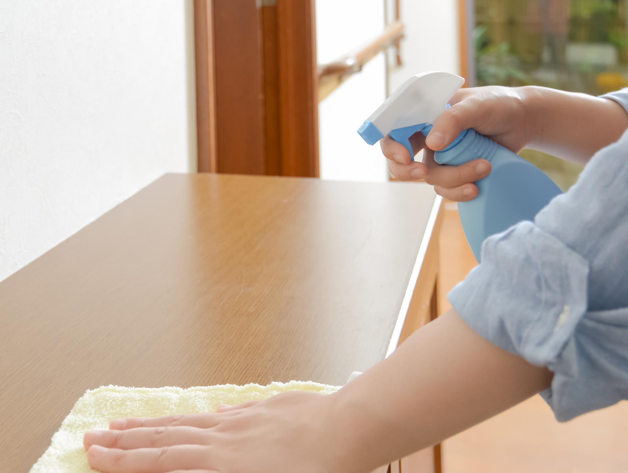 家具の掃除