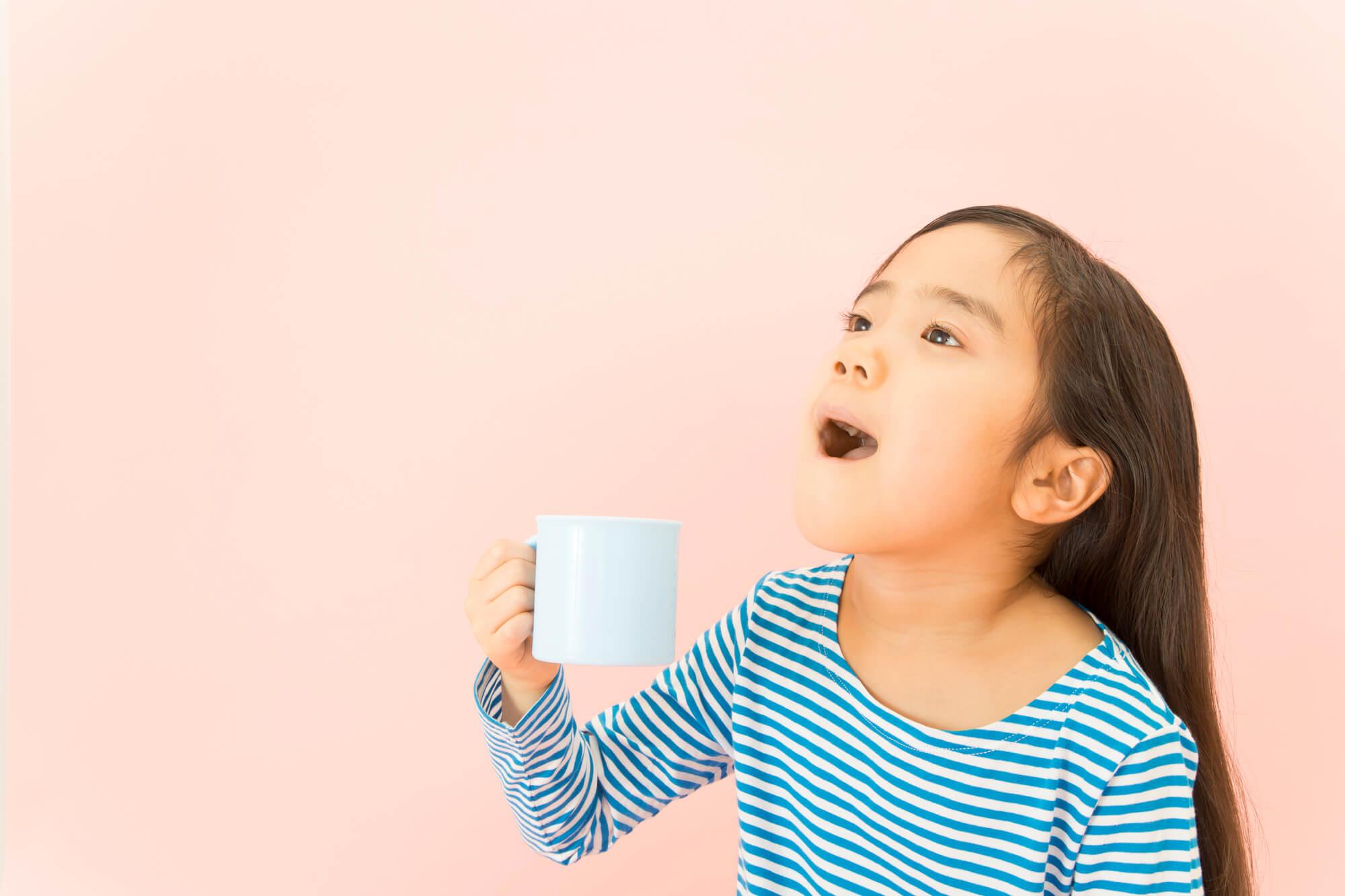 子どもにはピーチ味! 美味しい味でインフルエンザを予防