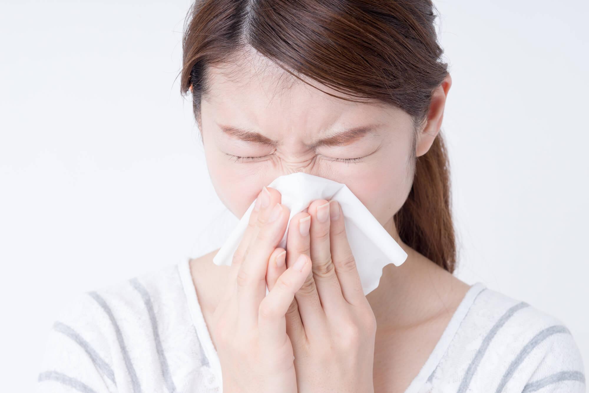 毎日の食生活とハッカ油で「花粉症」を改善
