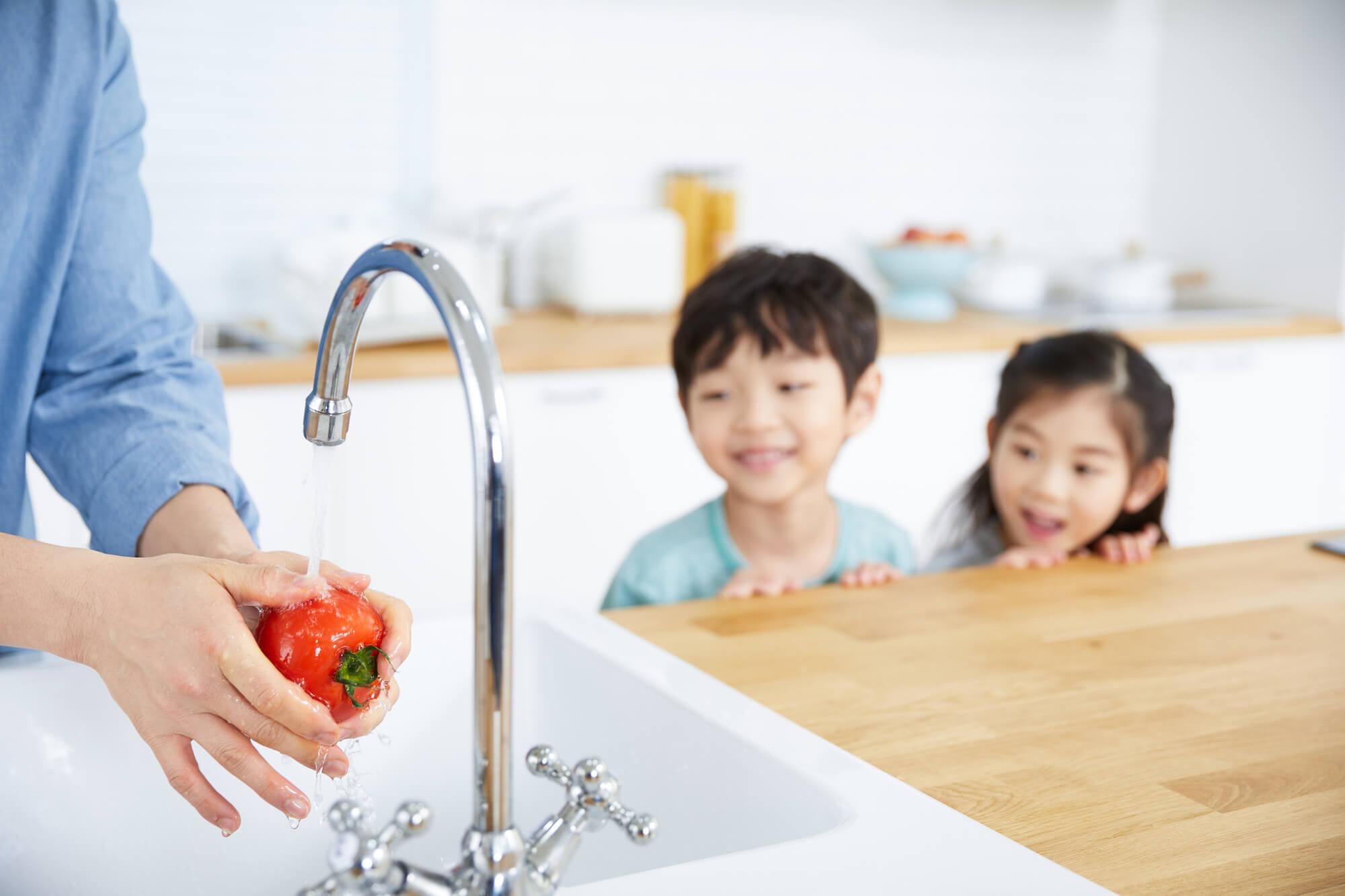 キッチンの排水口が詰まっちゃう!?そんなときは重曹×クエン酸の力