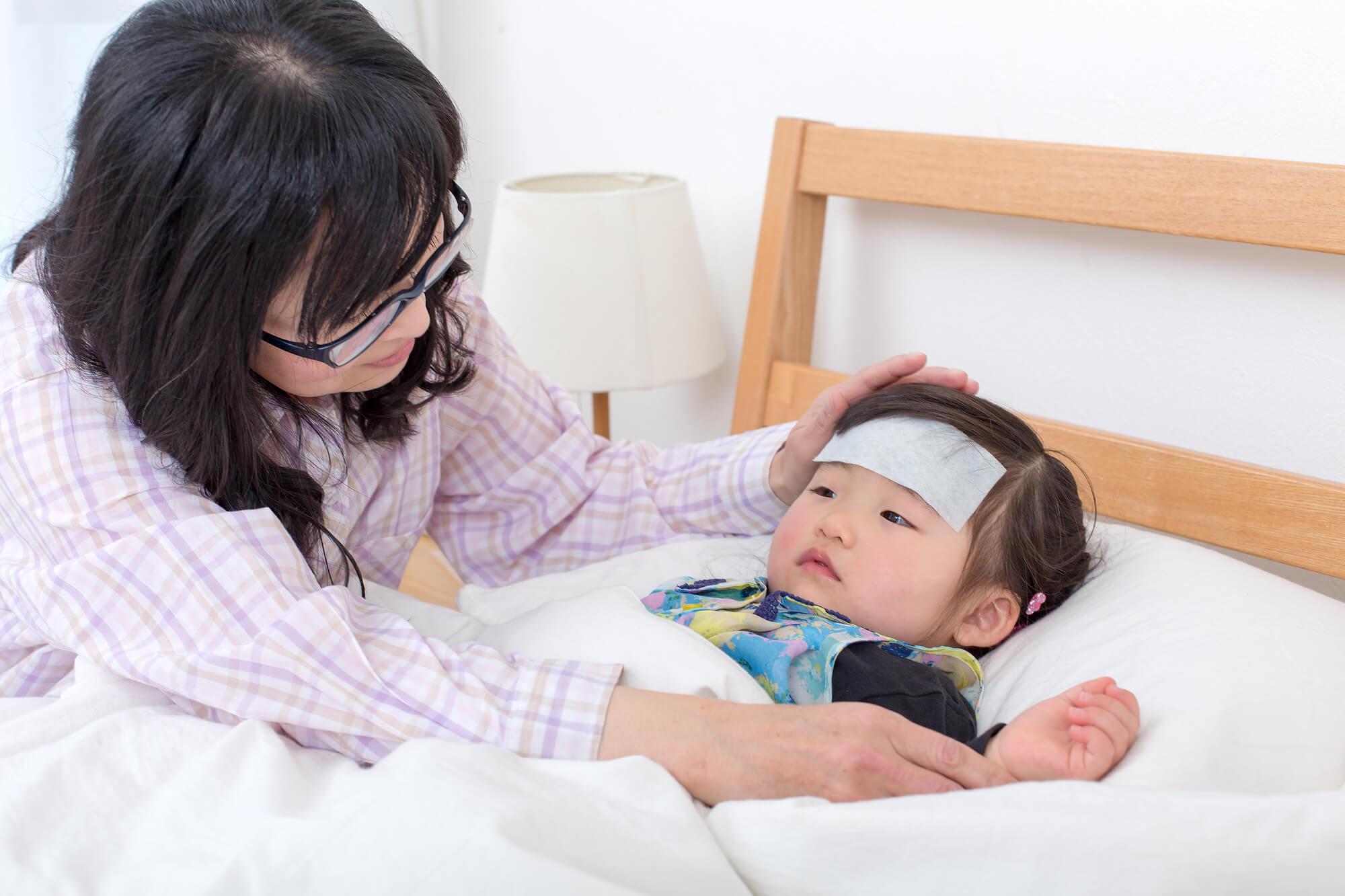 見守りが大切!子どもがインフルエンザにかかったときの家庭でのケア