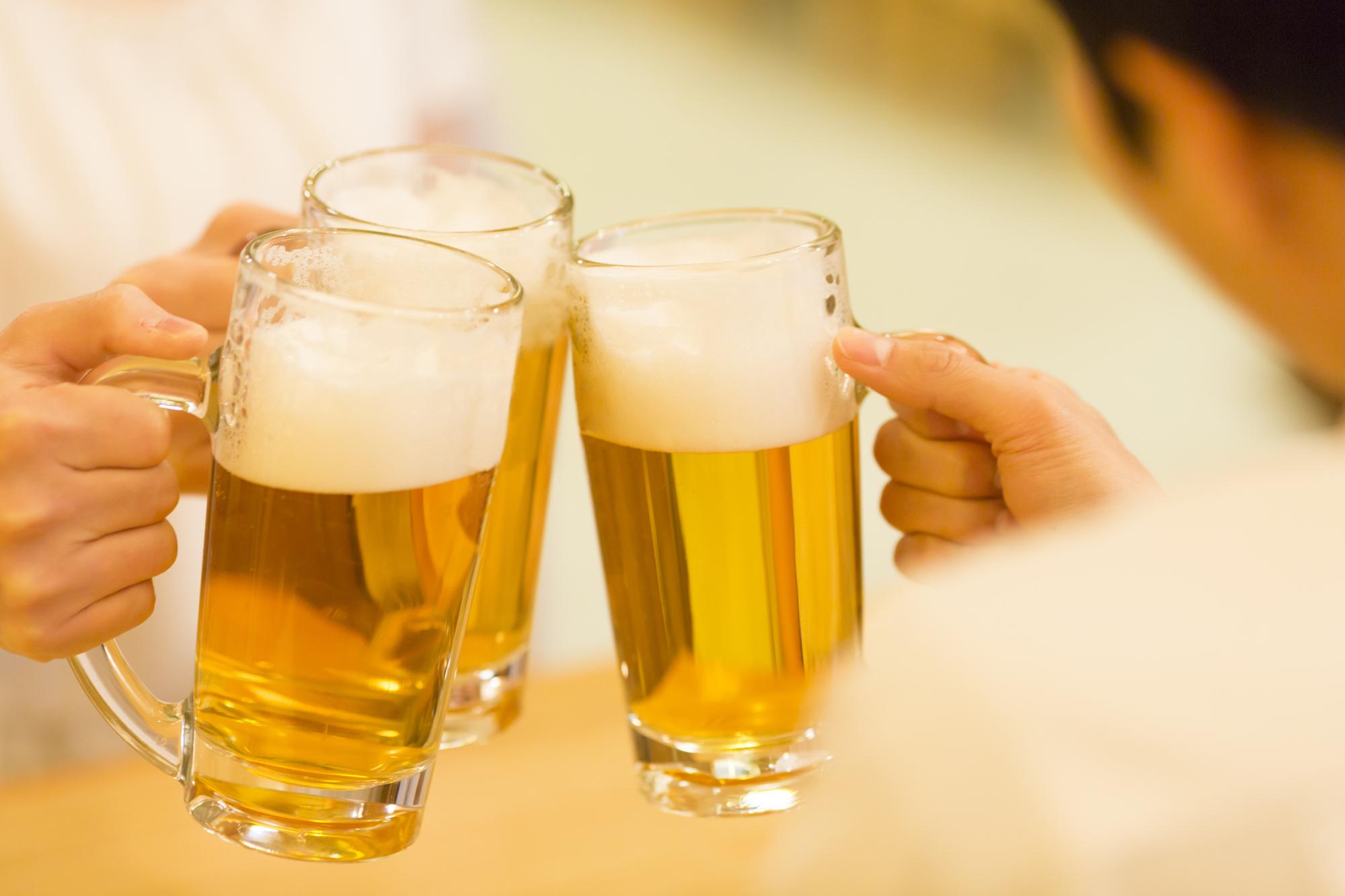 飲酒とインフルエンザの予防接種について