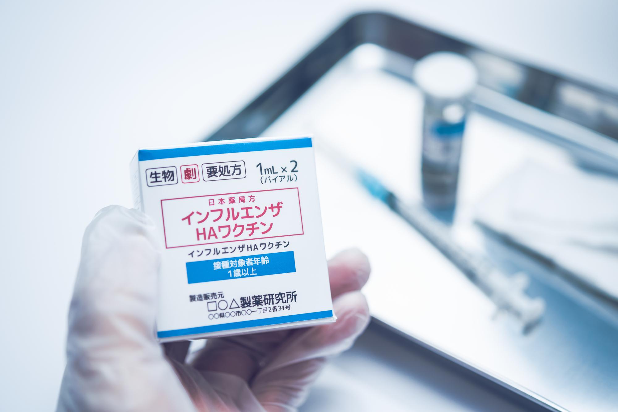 インフルエンザワクチンの効果や接種方法を知ろう