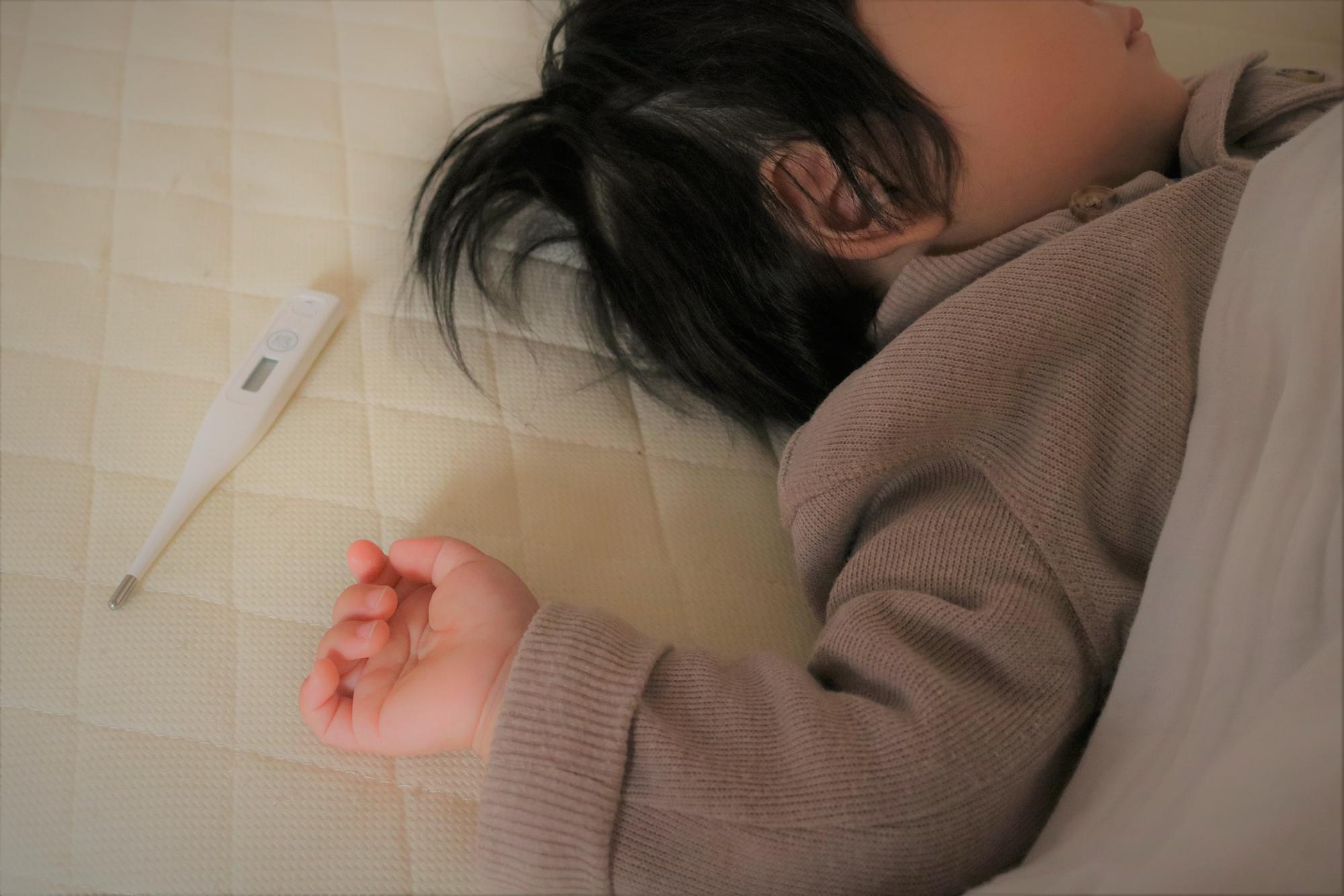 インフルエンザで高熱に……。高熱時の対処法と、熱を下げる方法を知っておこう!