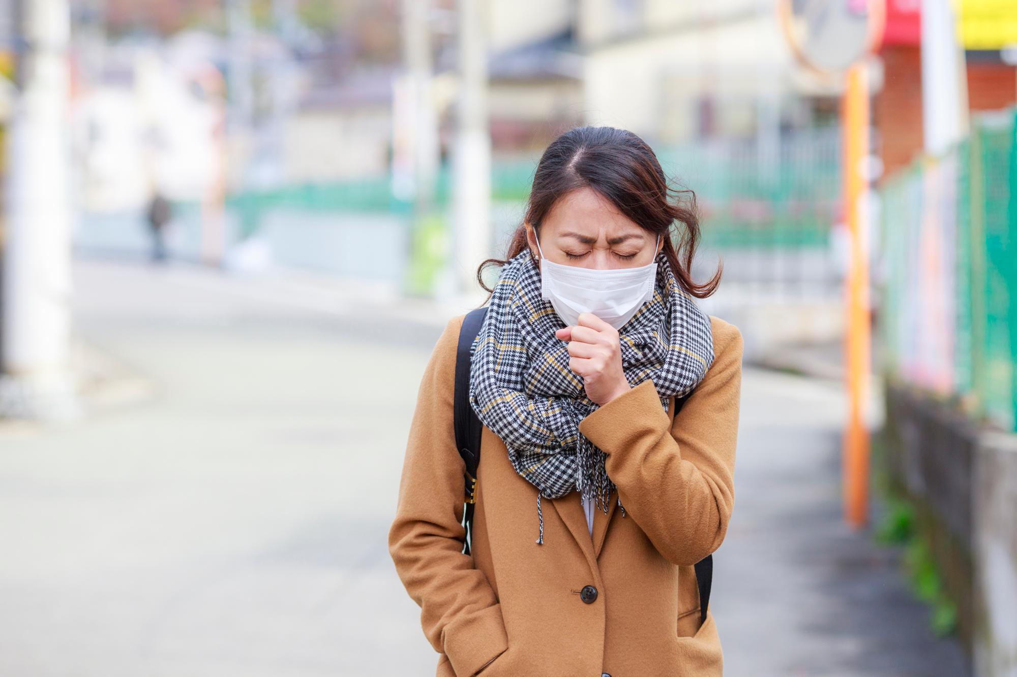 インフルエンザ流行のイメージ