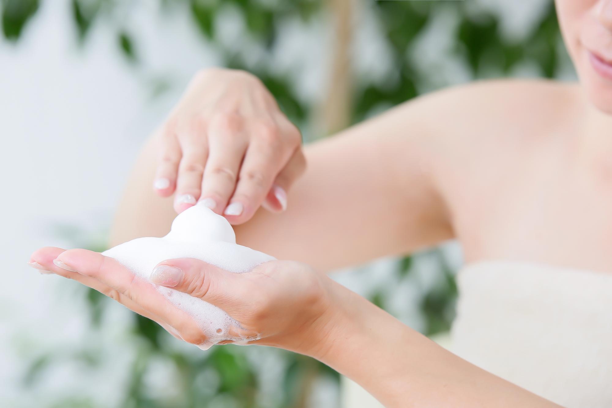 洗顔のポイント