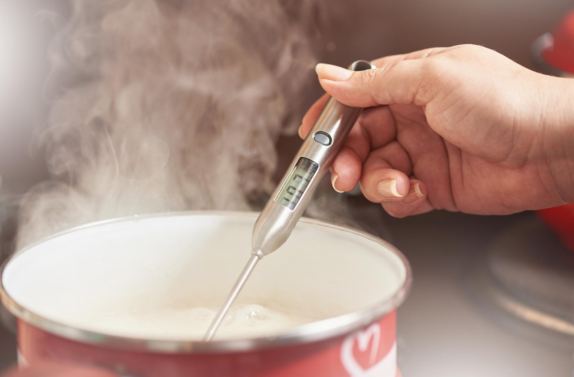 料理の温度を測る