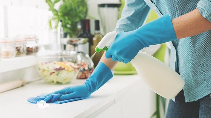 台所の掃除イメージ画像