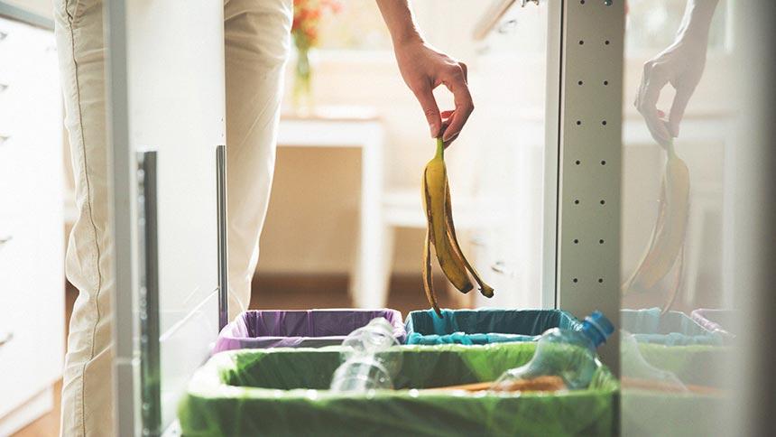 キッチンのごみ入れのイメージ画像